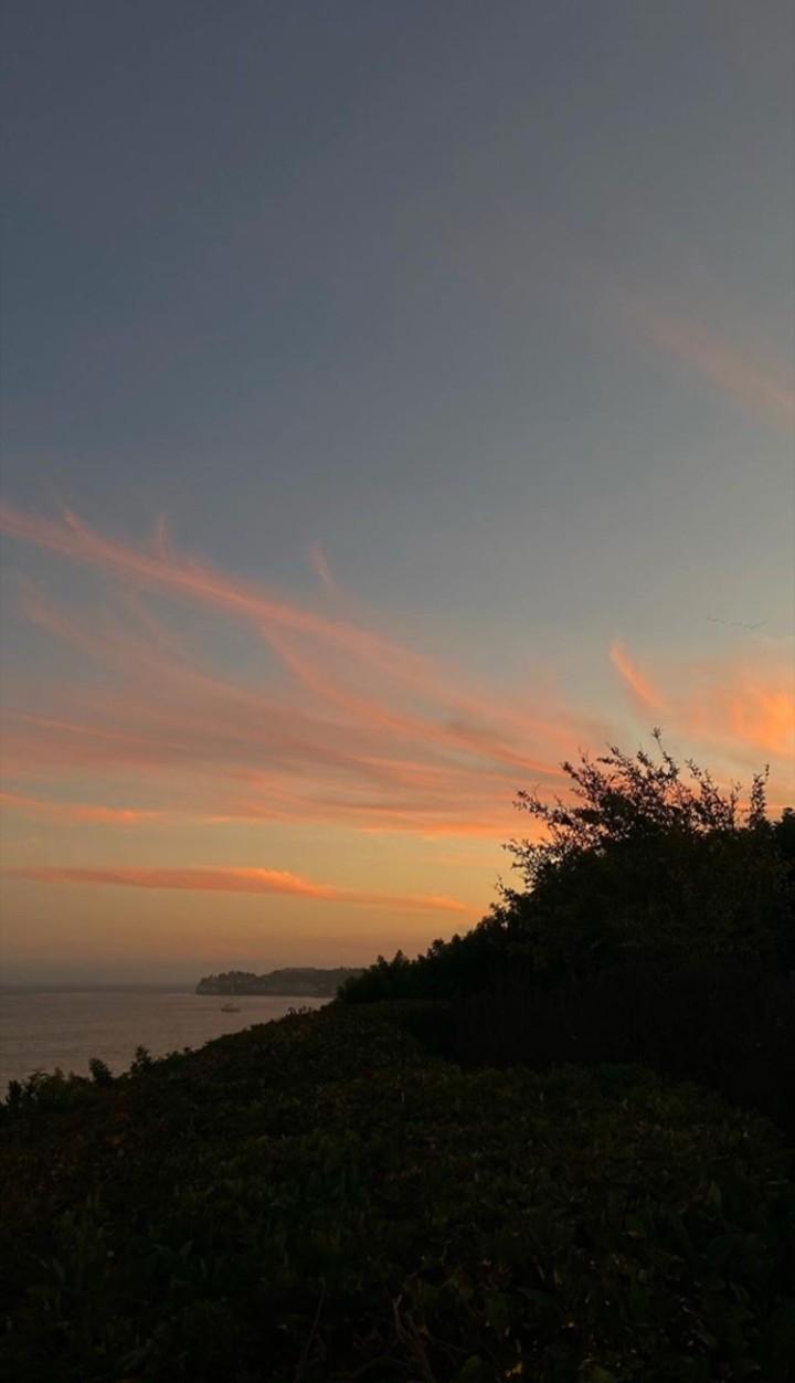 landscape, summer, and sunset image