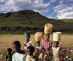 africa, mountains, and people image
