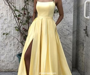 evening dress, prom dresses, and evening gown image