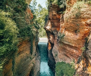 background, bridge, and nature image
