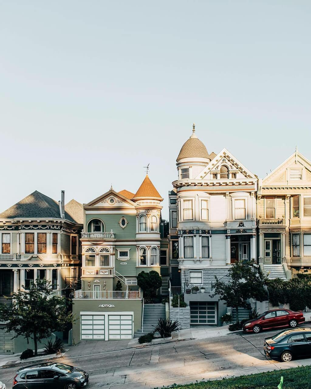 city, house, and travel image