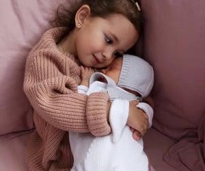 baby, hair, and makeup image