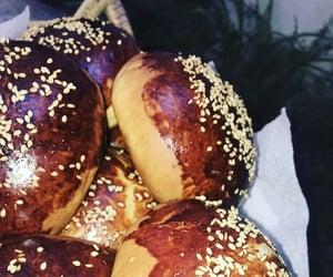 bread, brioches, and breakfast image
