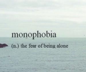 alone, fear, and sad image
