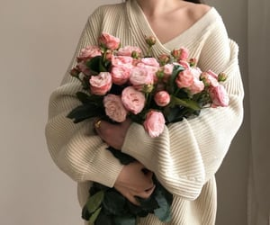 flowers, roses, and style image