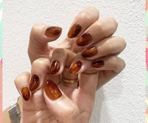 manicure, gel nails, and nail art image