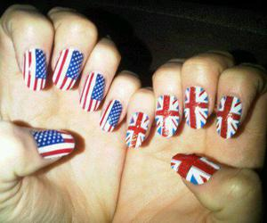 nails, usa, and england image