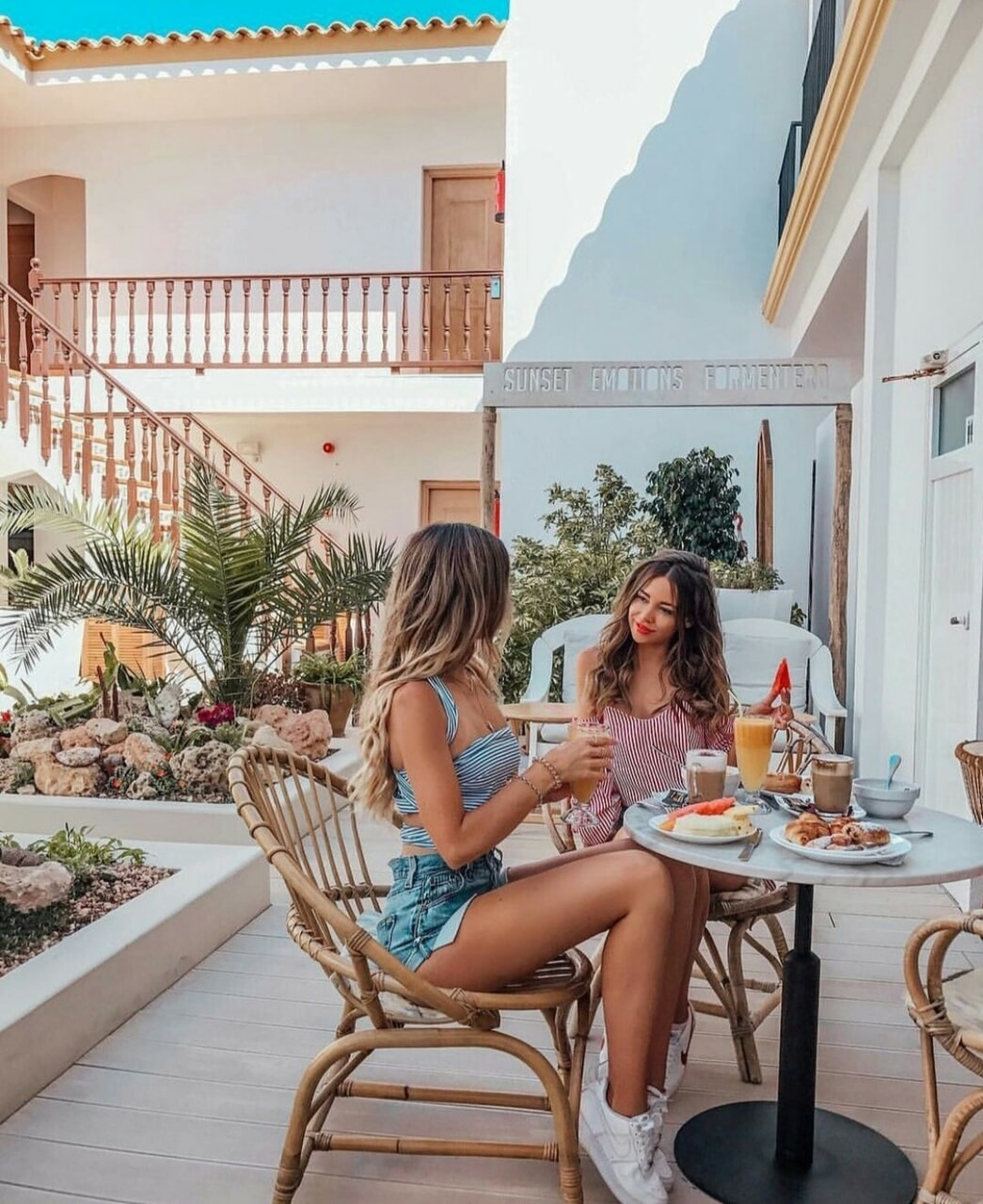 breakfast, friendship, and summer image