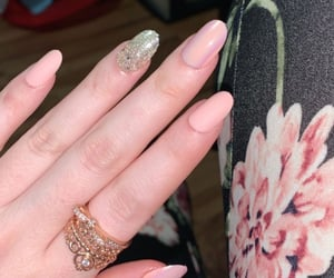 design, manicure, and glitter nails image