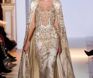 haute couture, dress, and model image