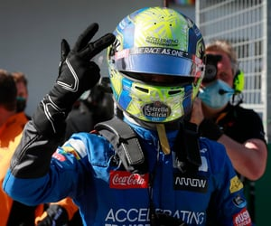 blue, cars, and driver image