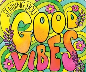 good vibes and art image