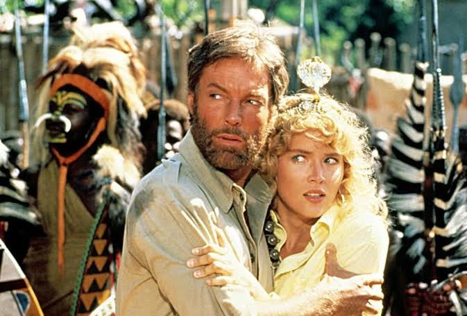movie, 1985, and king solomon's mines image