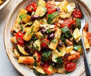 pasta, healthy, and vegan image