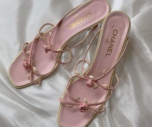 heels, luxe, and chanel image