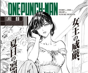 black and white, pics, and one punch man image