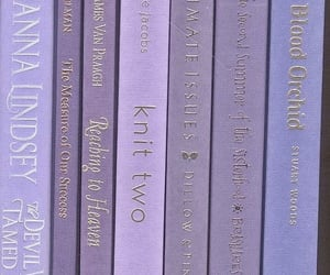 book, purple, and aesthetic image