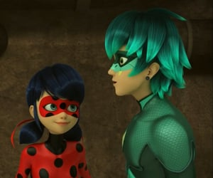cartoons, Chat Noir, and childhood image