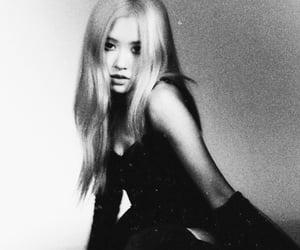 black and white, bp, and korea image