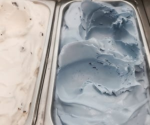 ice cream, aesthetic, and blue image