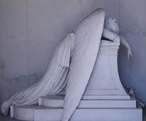 statue, ángel, and angel del dolor image