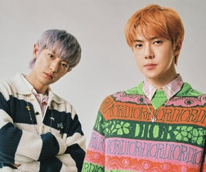 Chen, kyungsoo, and baekhyun image