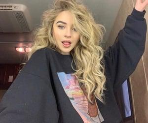 sabrina carpenter, hair, and singer image
