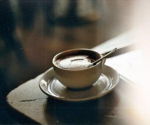 brown, vintage, and coffee image
