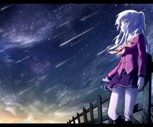 anime girl, camera, and charlotte image