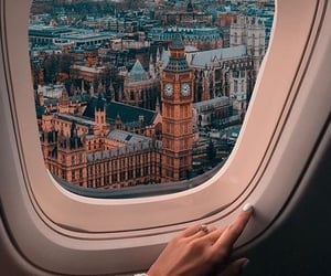 view, beautiful, and plane image