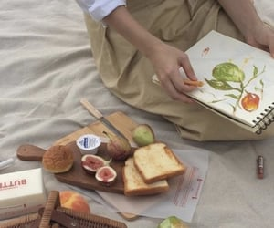 aesthetic, food, and art image