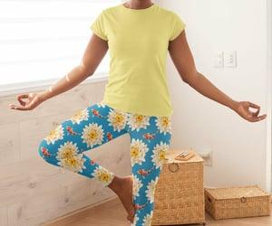 plus size leggings, etsy, and workout leggings image