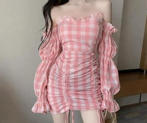 dress, aesthetic, and asian image