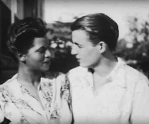 world war ii, interracial couple, and love image
