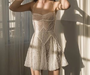 dress, hera, and shiny image
