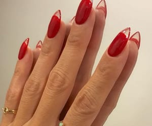 nails, red, and aesthetic image