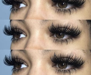brown eyes, exploring, and eyes image