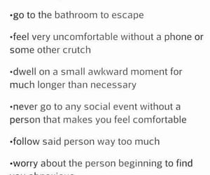 accurate, awkward, and introvert image