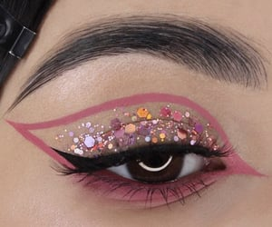 eyes, glitter, and alina zonova image