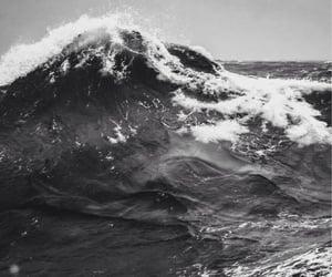 deep, sea, and wave image