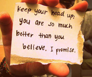 believe, promise, and inspiration image
