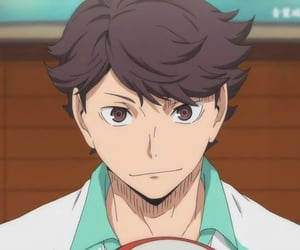 haikyuu, oikawa, and anime image
