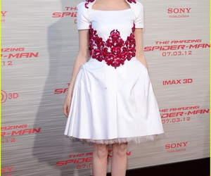 dress, emma stone, and spider-man image