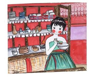 art, fanart, and Korean Drama image