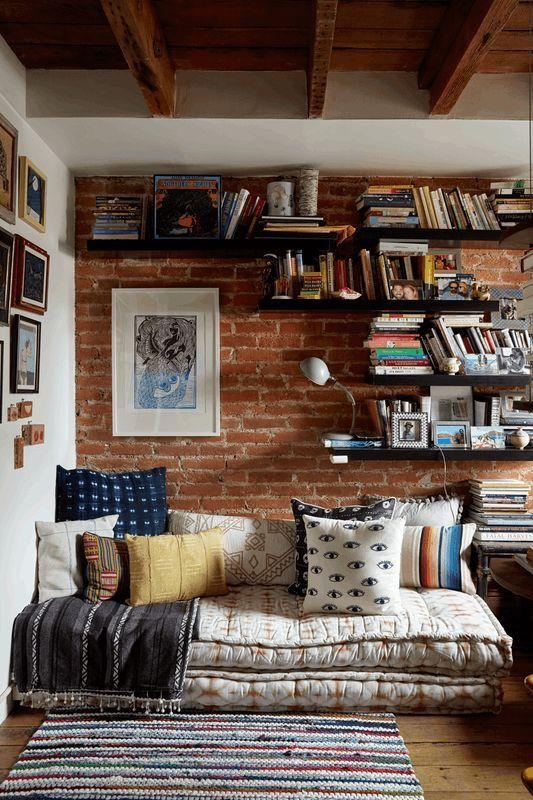 home, books, and decor image