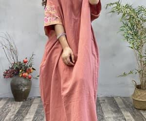 etsy, large size dress, and long dress image