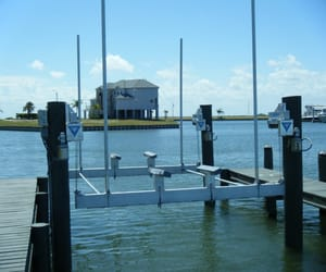 boat dock builder, seawall repair, and boat lift installation image