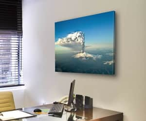 canvas wall art, tiaracle.com, and volcanos image