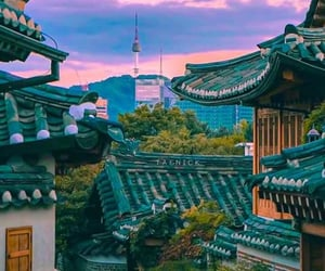 travel, korea, and seoul image