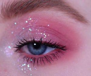 eye, aesthetic, and eye makeup image